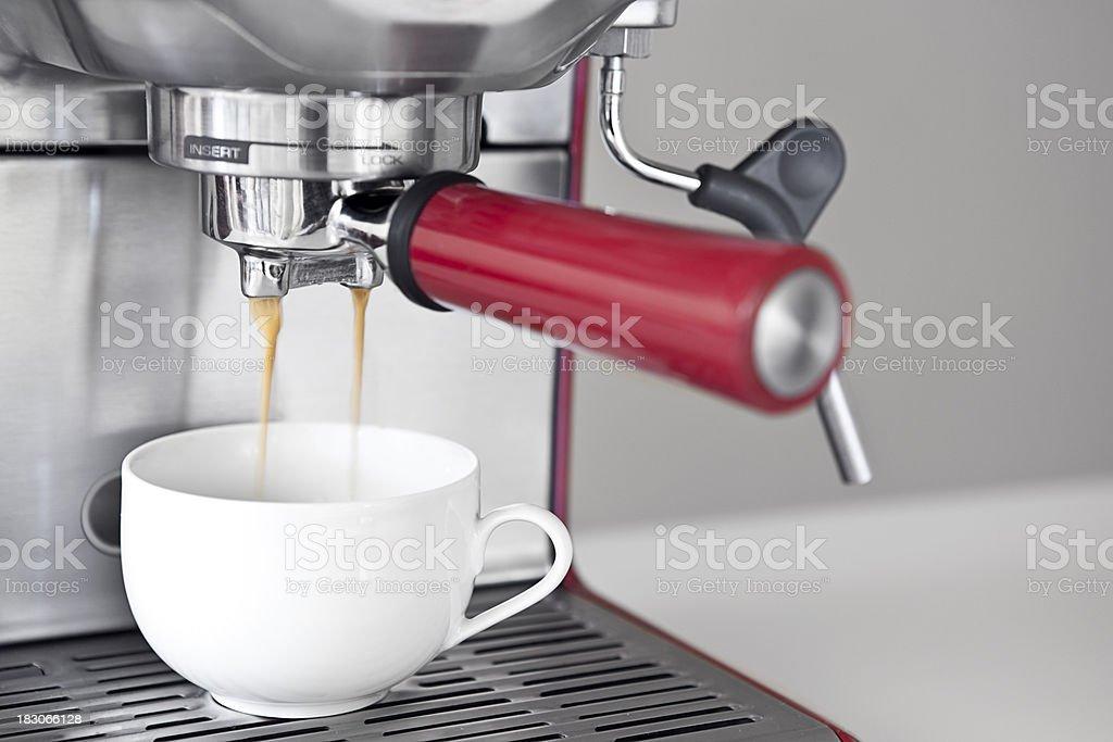 Espresso Coffee Machine royalty-free stock photo