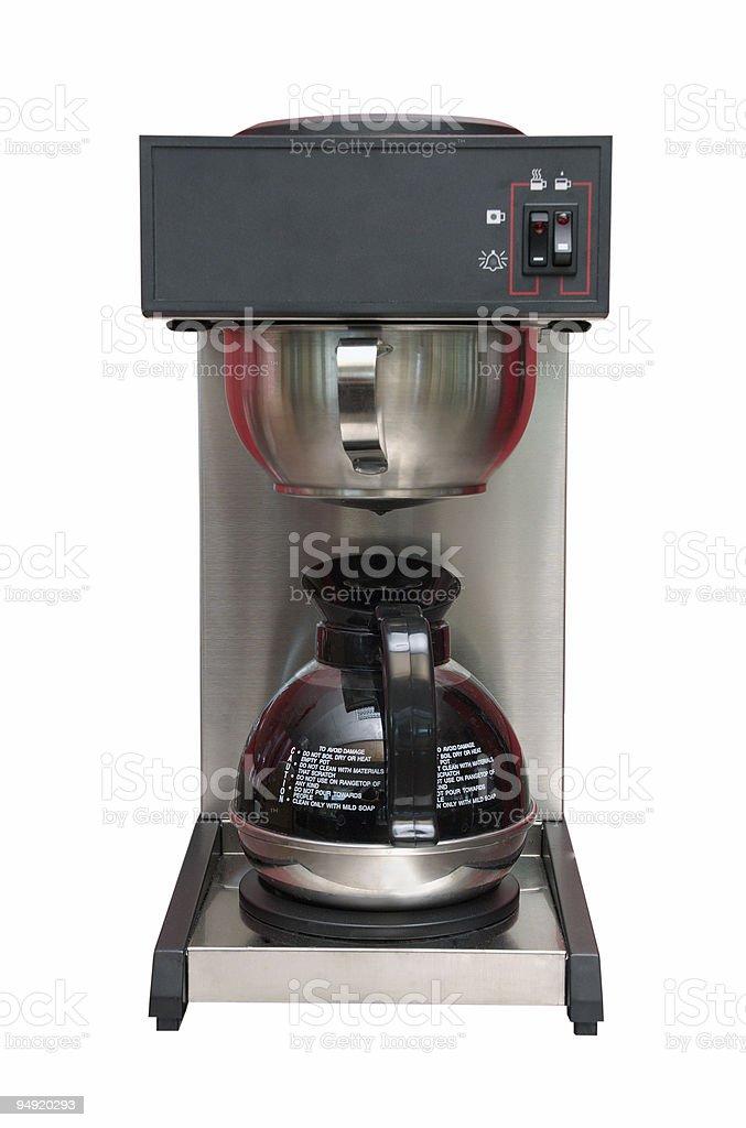 Espresso coffee maker royalty-free stock photo