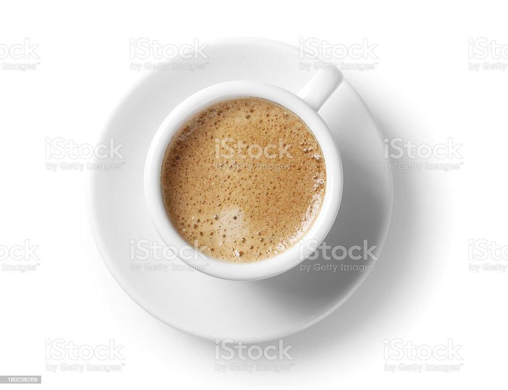 Espresso cup stock photo