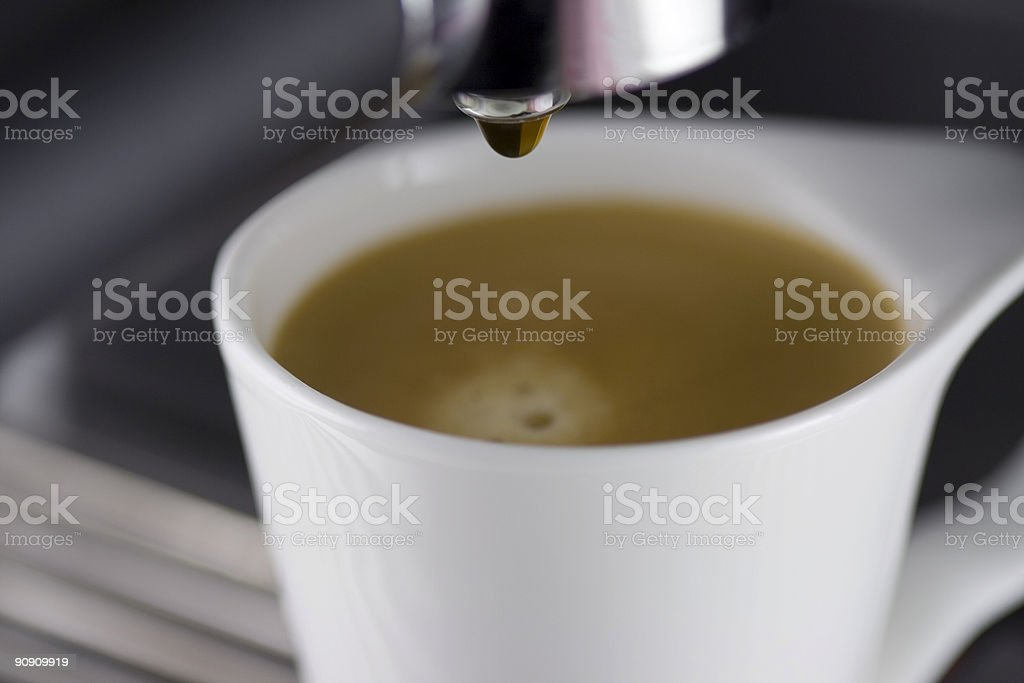 Espresso Drip stock photo