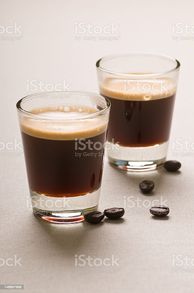 Espresso for Two royalty-free stock photo