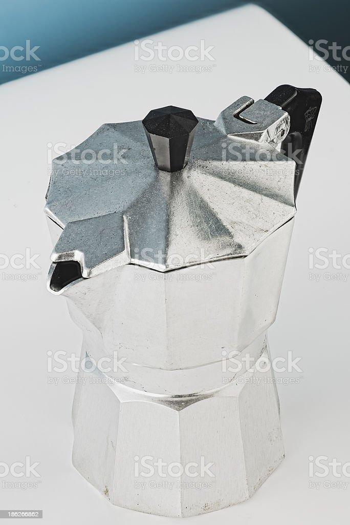 Espresso kettle royalty-free stock photo
