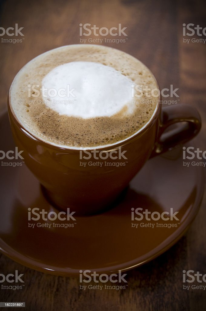Espresso latté royalty-free stock photo