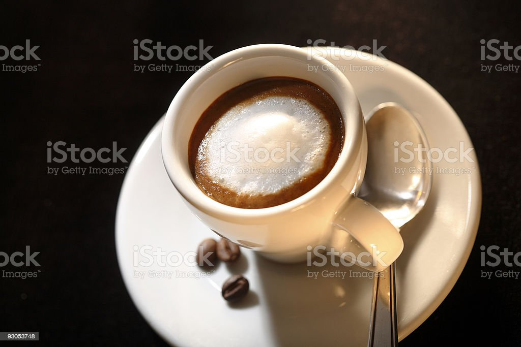 Espresso Macchiato royalty-free stock photo