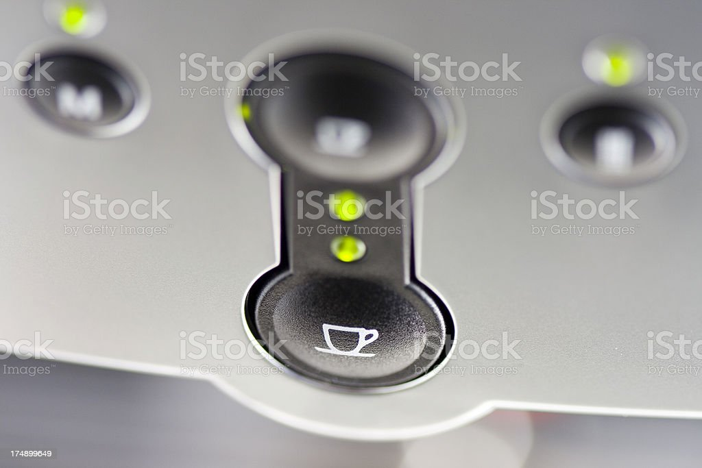 Espresso Machine Icons stock photo