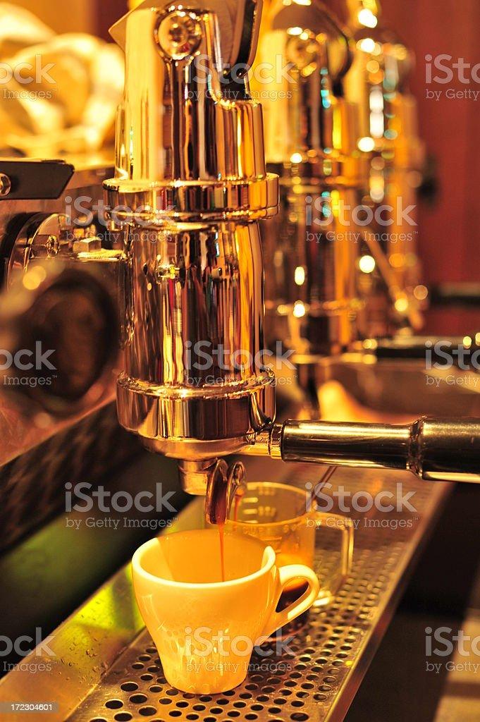 Espresso Machine royalty-free stock photo