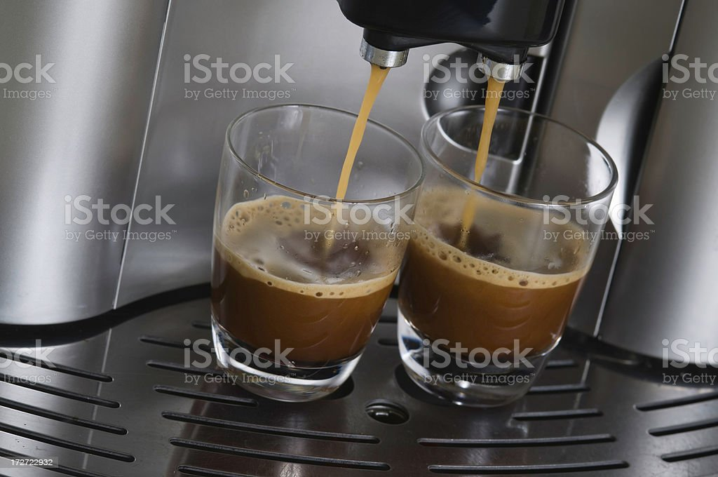 Espresso Machine royalty-free stock photo