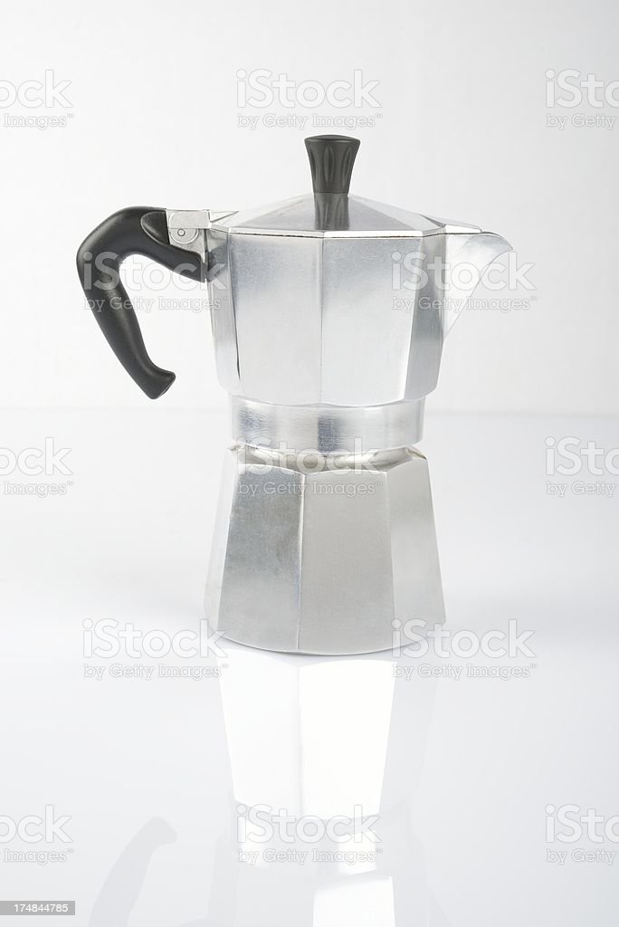 Espresso maker royalty-free stock photo