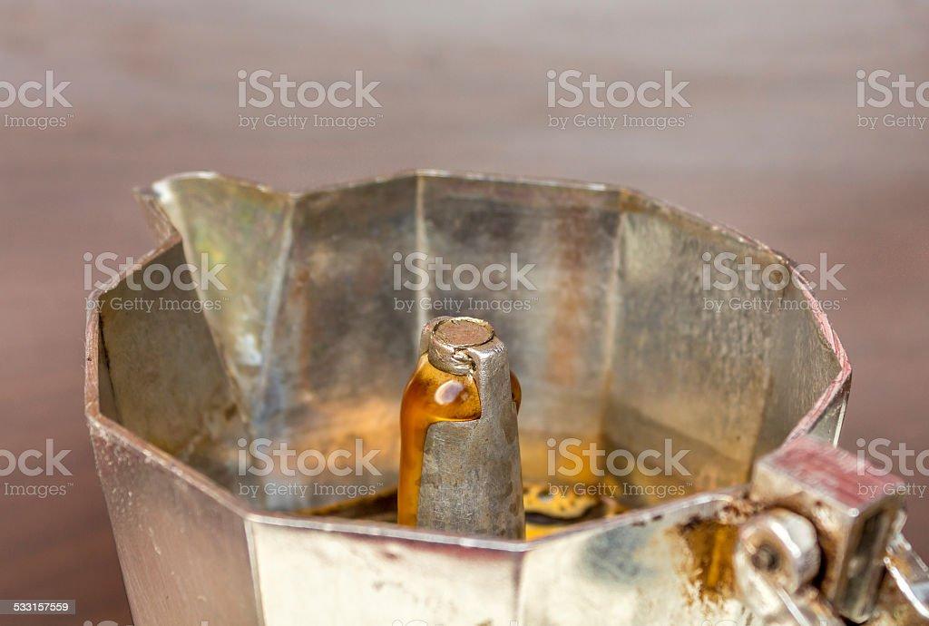 Espresso maker stock photo