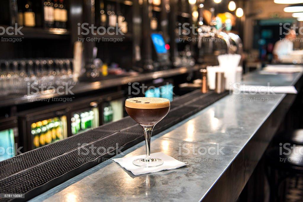 Espresso Martini stock photo