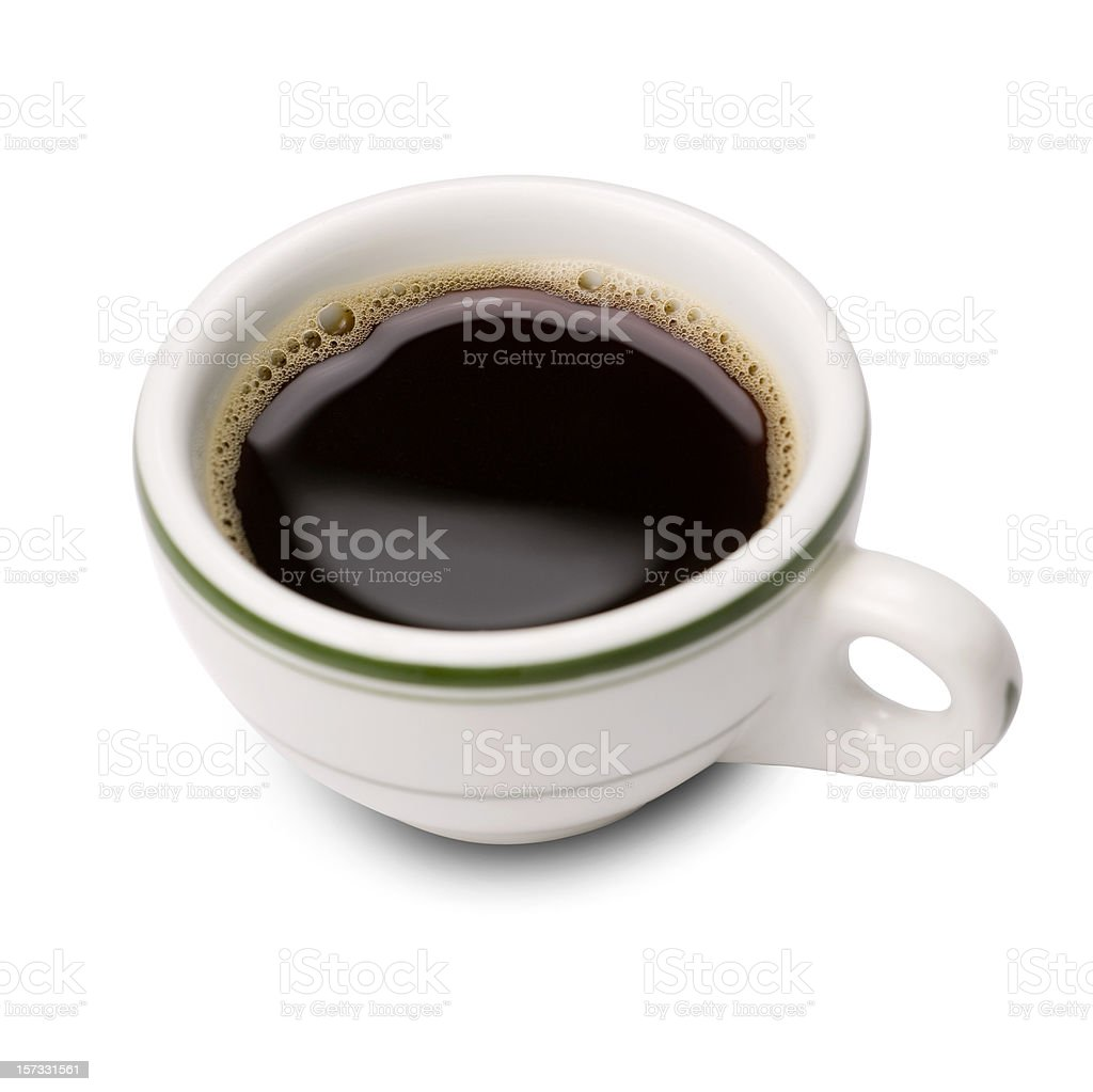 Espresso (Italian style cup) royalty-free stock photo