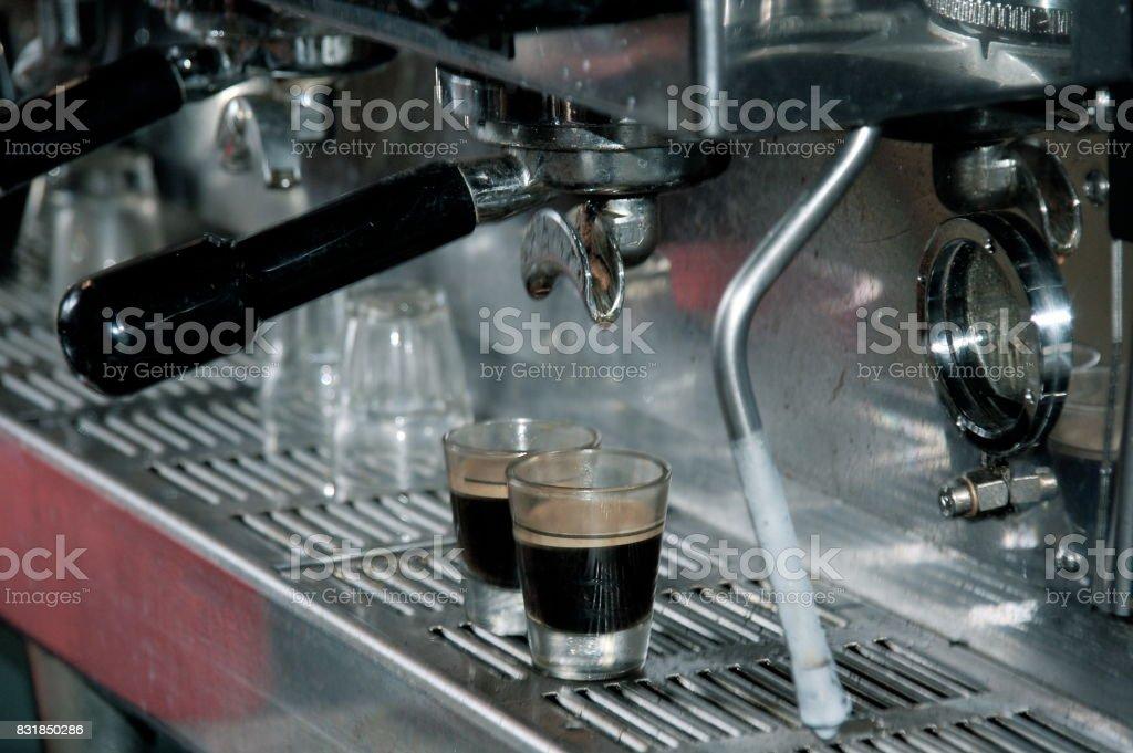 Espresso! stock photo