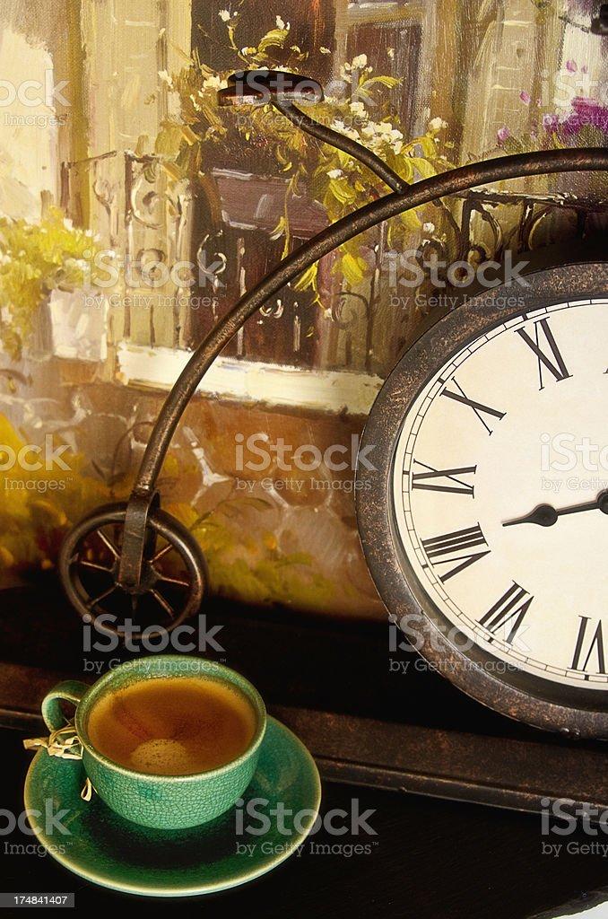 Espresso Time royalty-free stock photo