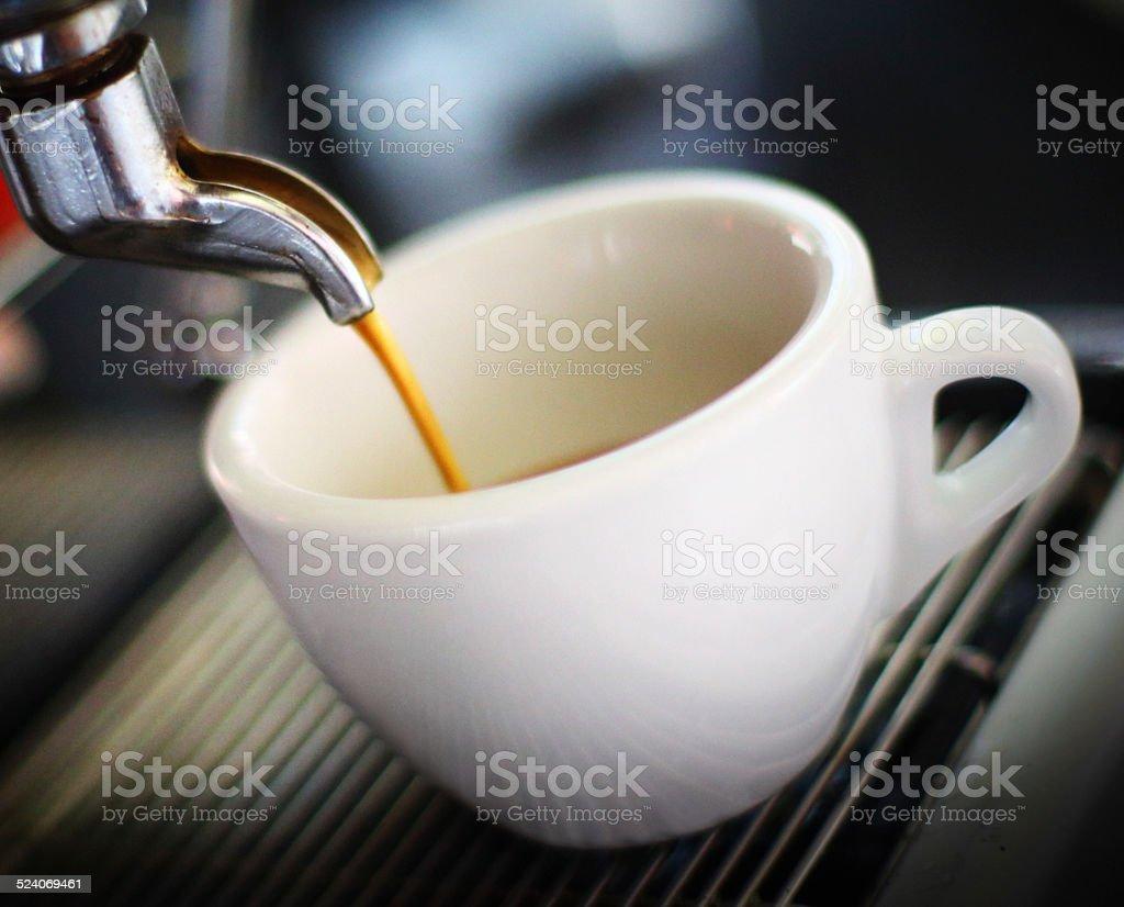 Espresso time. stock photo
