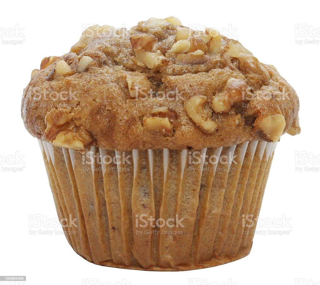 Espresso Walnut Muffin stock photo