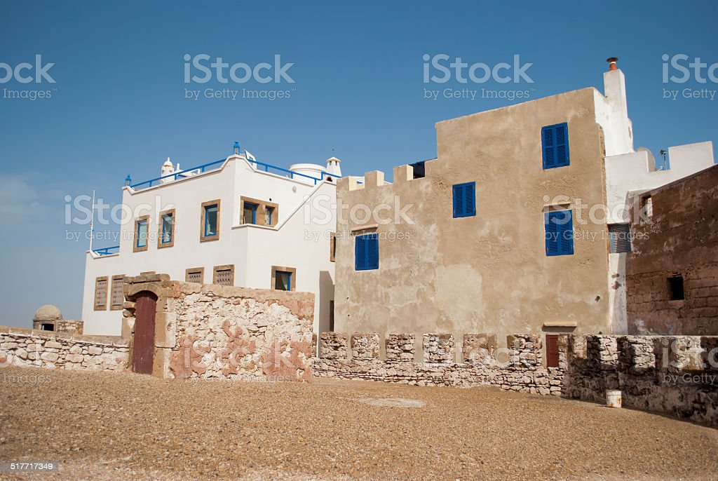 Essaouira city in Morocco stock photo