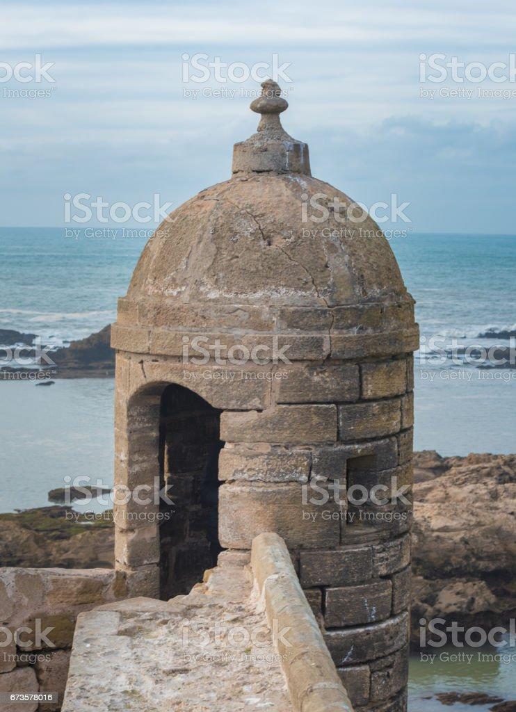 Essaouira,  formerly known as Mogador, Morocco. stock photo