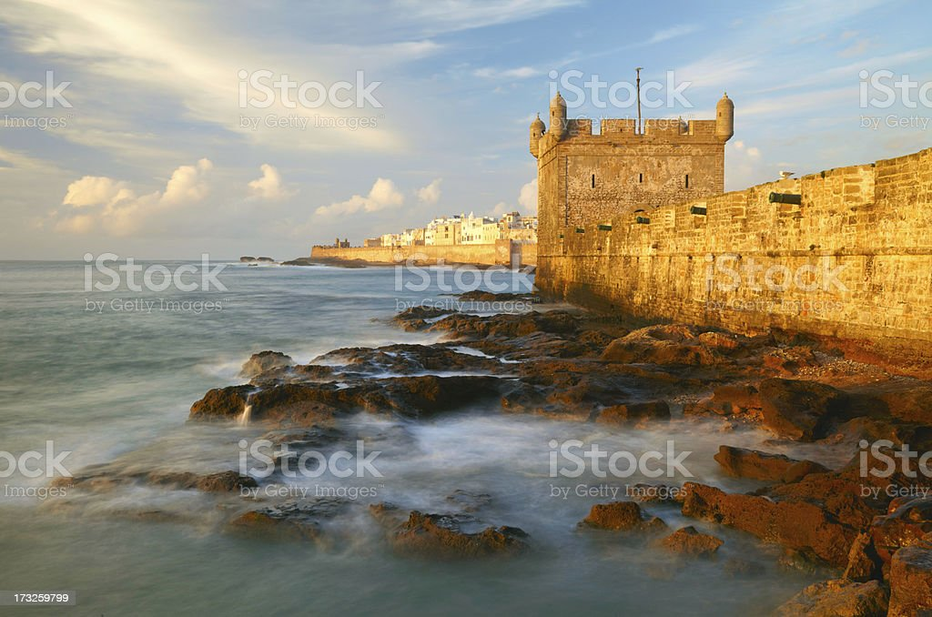 Essaouira Fortress, Morocco, Africa royalty-free stock photo