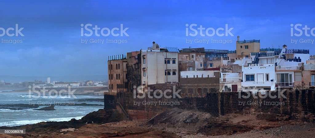 Essaouira Fortress, Morocco stock photo