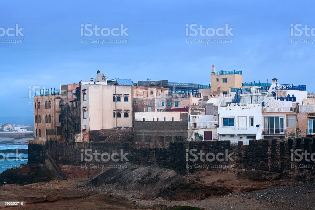 Essaouira Fortress, Morocco. stock photo