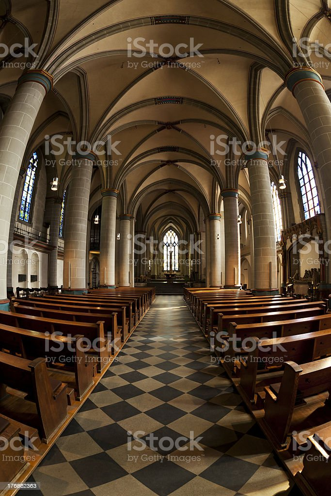 Essen cathedral royalty-free stock photo