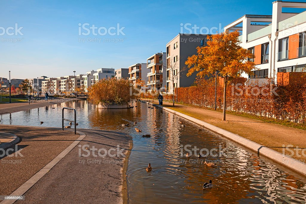 Essen City Center stock photo