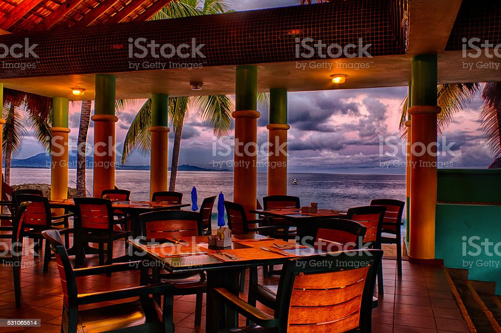 Essence of the Caribbean Resort stock photo