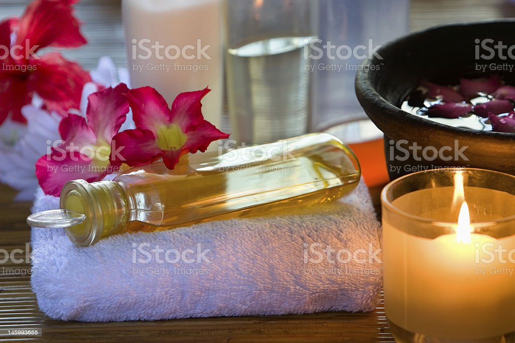 Essence Oil royalty-free stock photo