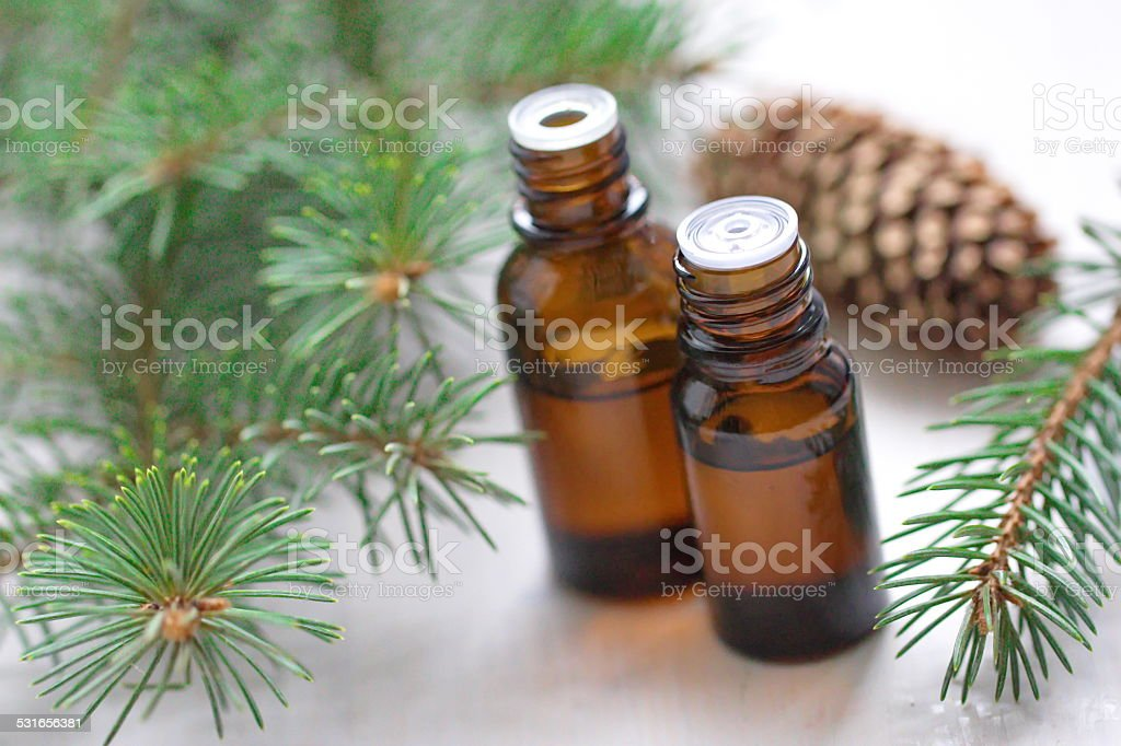 Essential aroma oil stock photo