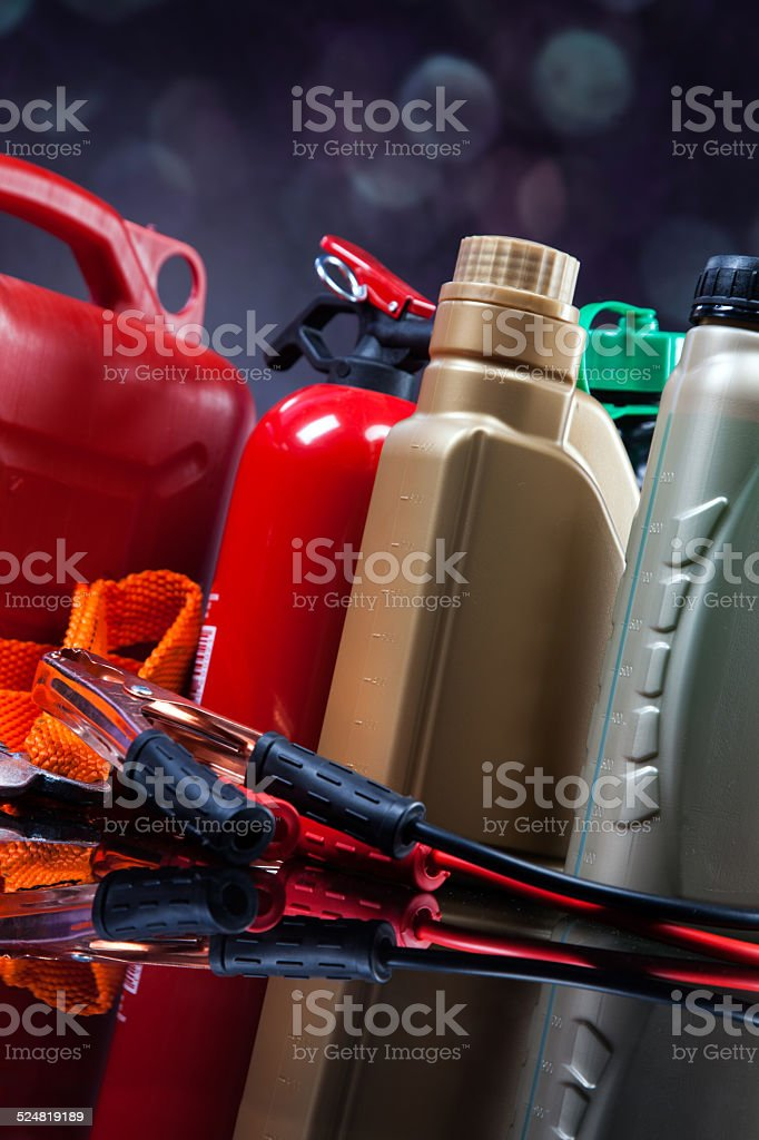 Essential elements in any car stock photo