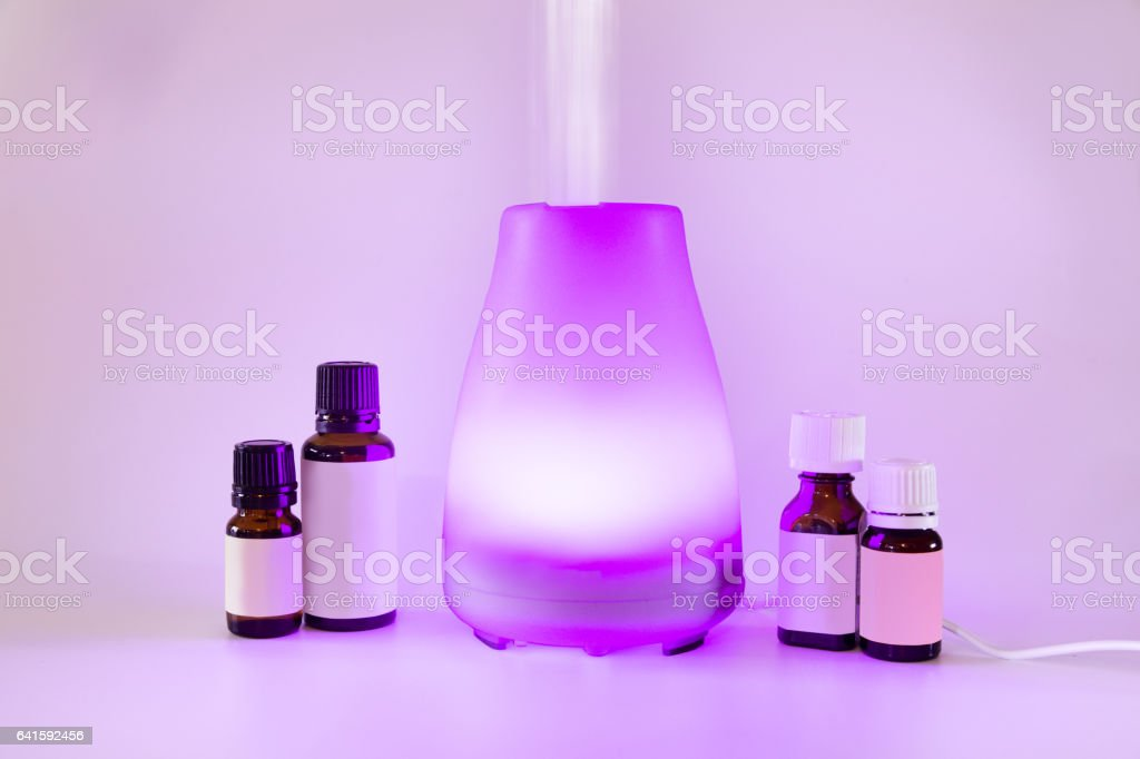 Essential Oil Diffuser stock photo