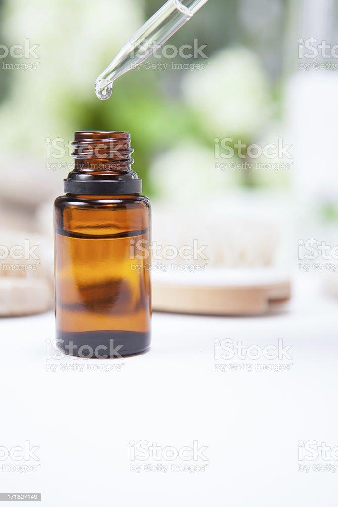Essential oil stock photo