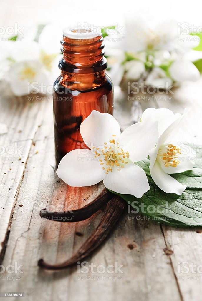 Essential Oil stock photo