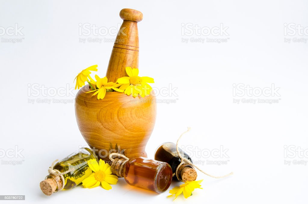 Essential oil royalty-free stock photo