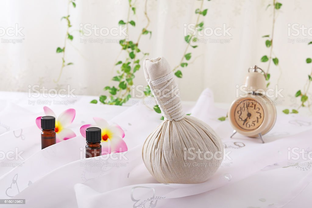Essential oils stock photo