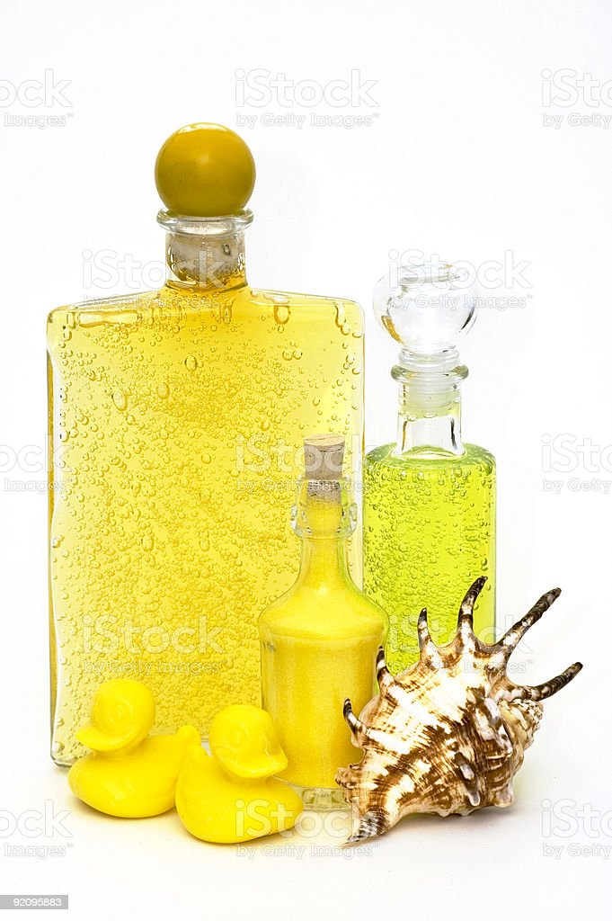 Essential Spa Oils stock photo
