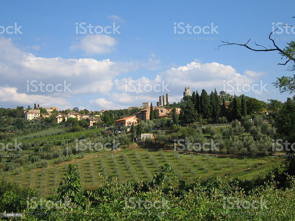 Essential Tuscany royalty-free stock photo