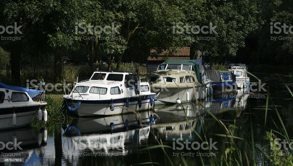 Essex Riverside stock photo