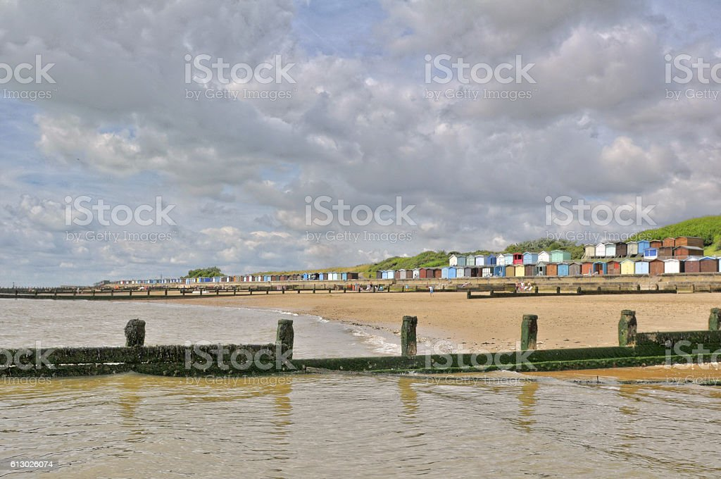 Essex Seaside. stock photo
