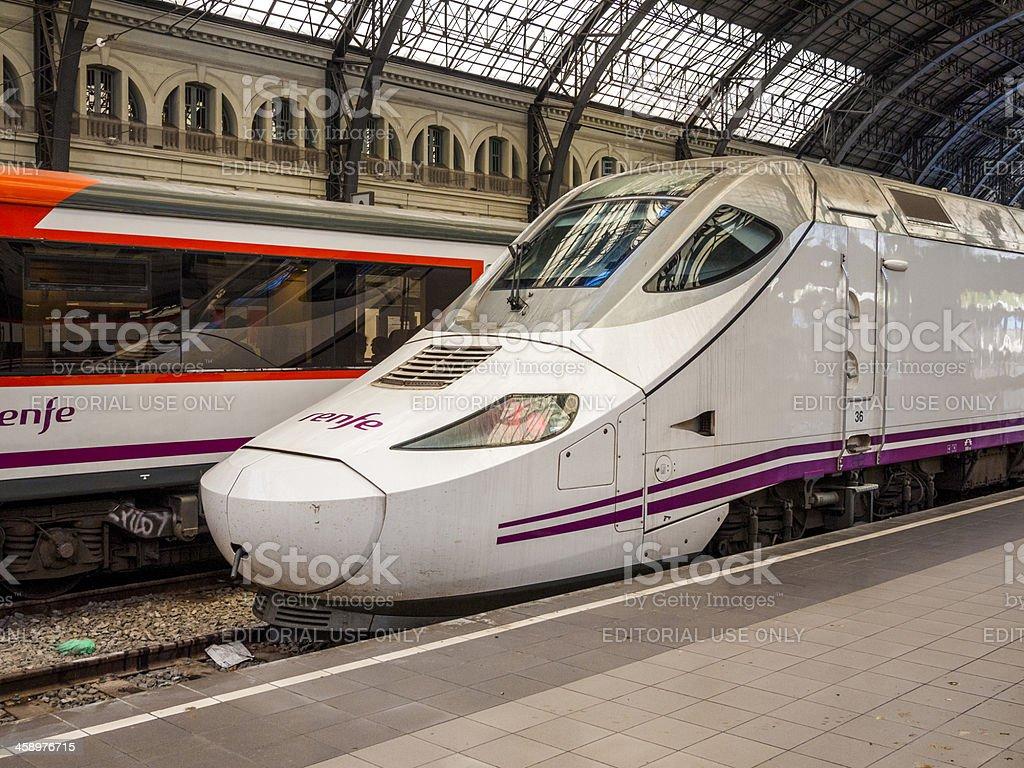 Estacio de Franca train station barcelona, Spain stock photo