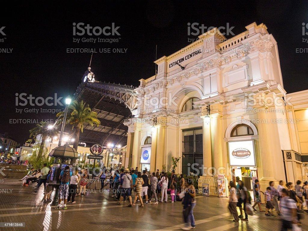 Estacion Central, Santiago, Chile stock photo
