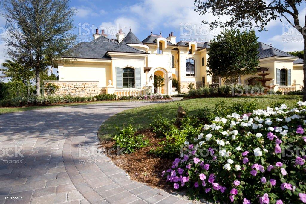 Estate Home royalty-free stock photo