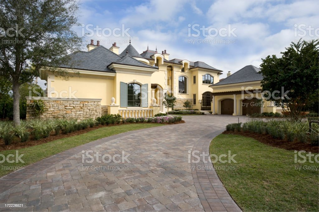 Estate Home royalty-free stock photo