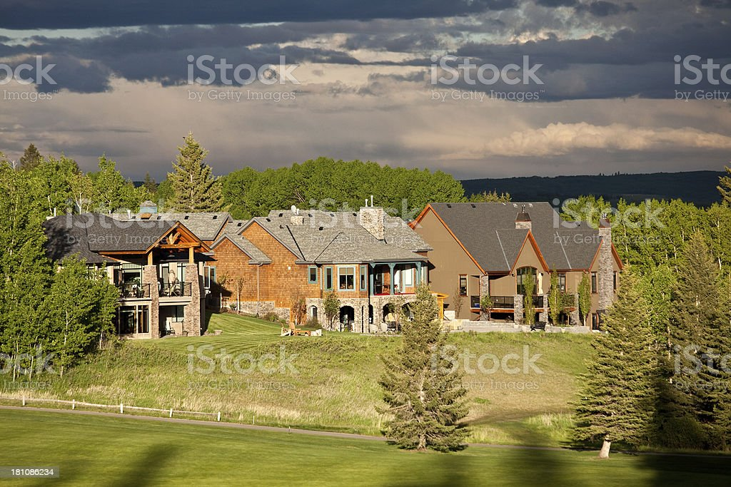 Estate Homes royalty-free stock photo