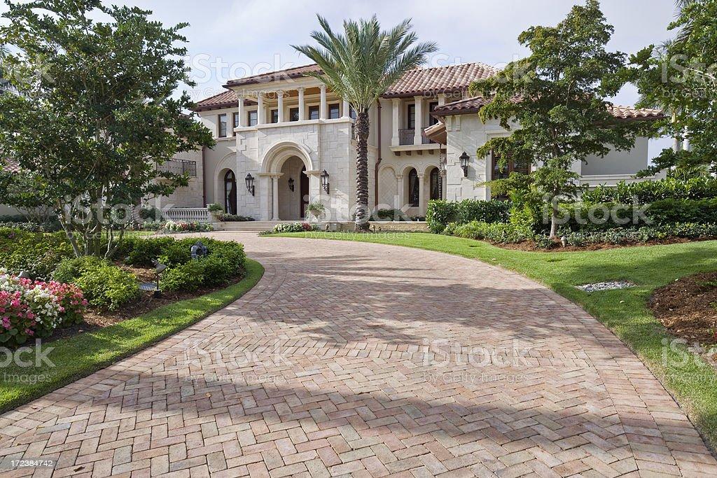 Estate Living royalty-free stock photo