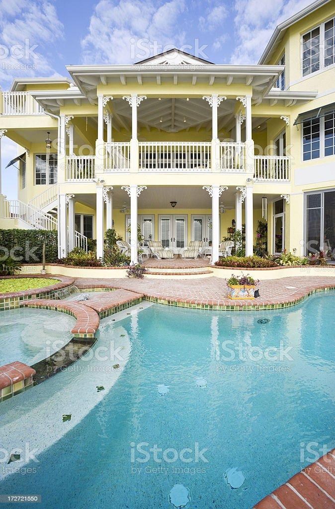 Estate Living stock photo