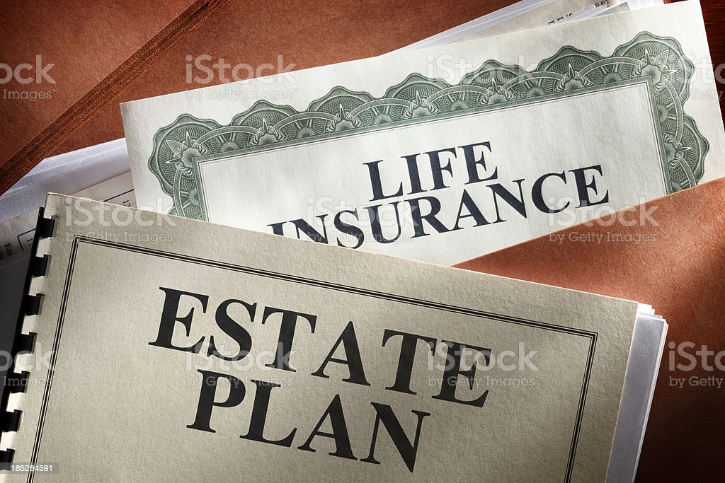 Estate Planning royalty-free stock photo