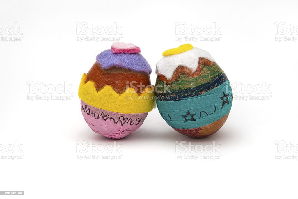 Ester eggs royalty-free stock photo