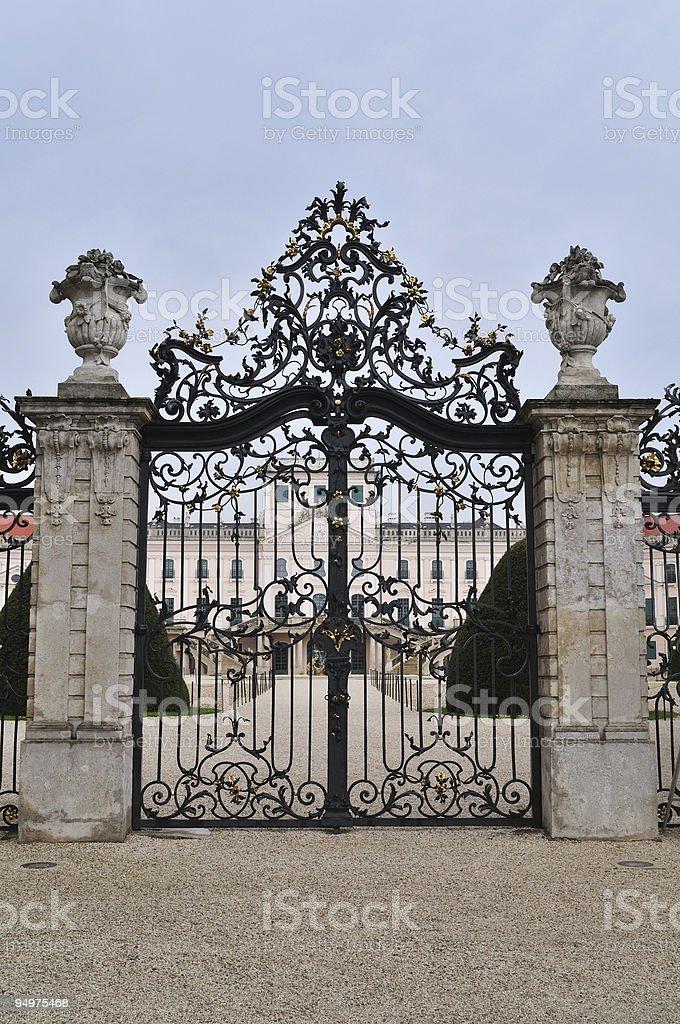 Esterhazy Palace royalty-free stock photo
