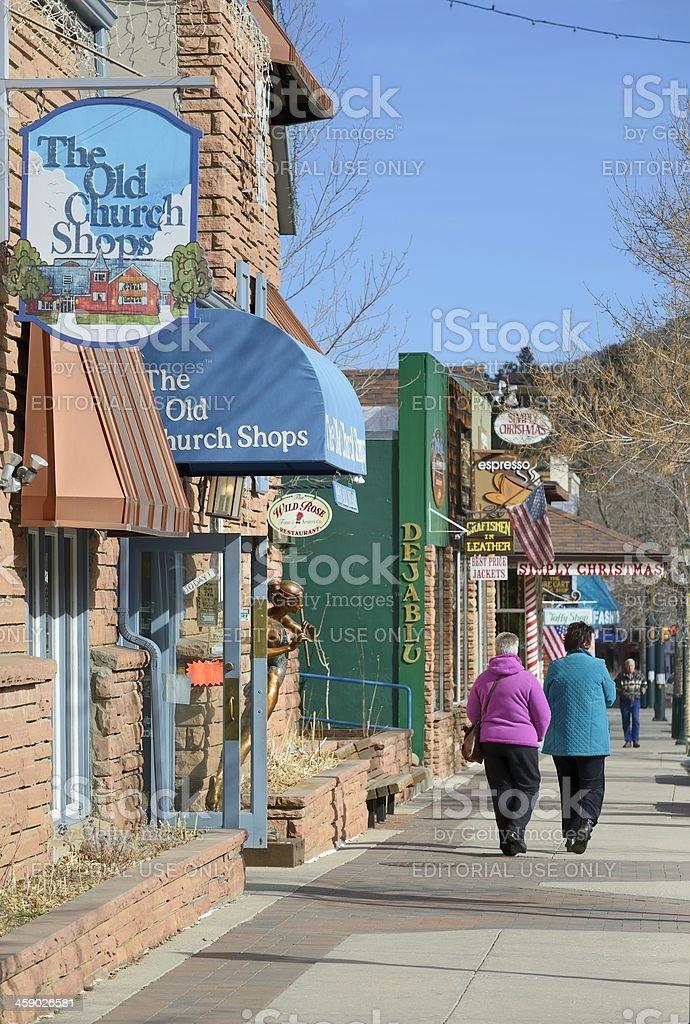 Estes Park, Colorado royalty-free stock photo